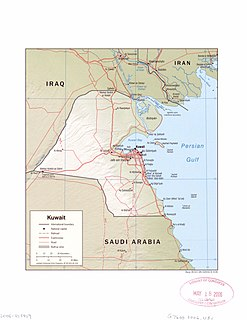Iraq–Kuwait border