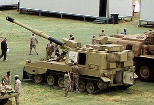 PLZ-45 - Kuwaiti PLZ-45 self-propelled howitzer in February 2011.