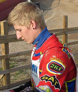 Kyle Hughes British speedway rider