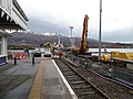 Kyle of Lochalsh railway station, Ross and Cromarty - pier from Platform 1.jpg