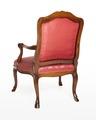 Länstol, 1700-talets mitt - Hallwylska museet - 110075.tif