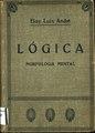 Lógica. Morfología mental. 1925. Eloy Luis André.pdf
