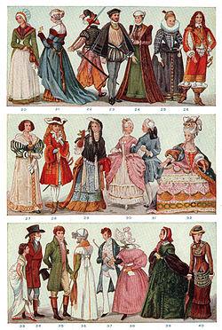 洋服の歴史 , Wikipedia