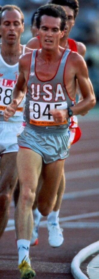 Craig Virgin - Virgin at the 1984 Summer Olympics
