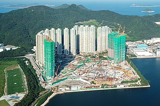 LOHAS Park Private Housing estate in Tseung Kwan O, Hong Kong