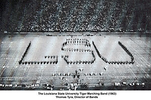 Thomas Tyra - Image: LSU Tiger Band 1963