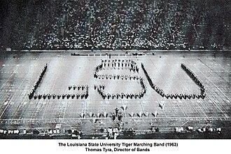 Thomas Tyra - Image: LSU Tiger Band 1963