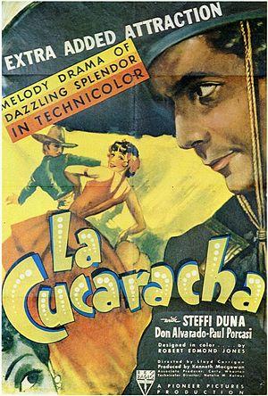 La Cucaracha (1934 film) - Original film poster