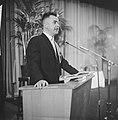 Laatste samenkomst van Concili te Rome, Mr L Baas voorzitter Landelijk Centrum, Bestanddeelnr 914-3665.jpg
