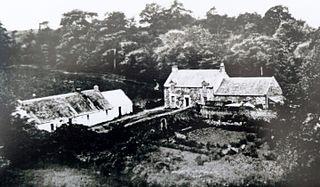 Lands of Borland Human settlement in Scotland