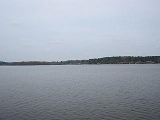Lake Cypress Springs Reservoir in northeast Texas