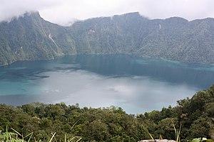 Mount Melibengoy - Lake Holon (Caldera of Mount Melibengoy a.k.a. Mount Parker)