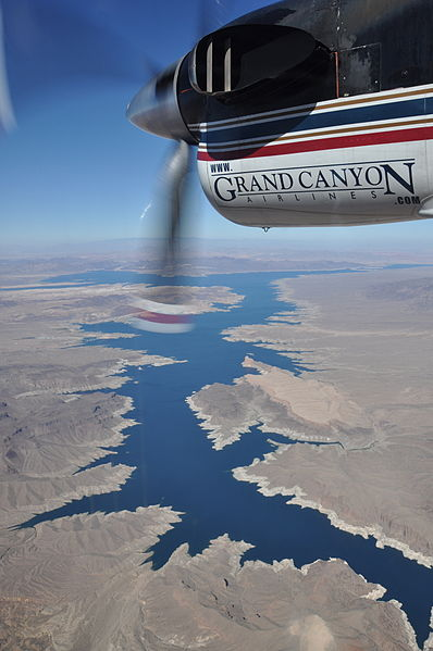 File:Lake Mead by air.jpg