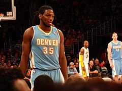 Kenneth Faried w 2013 roku