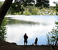 Lakeside fishing. SEE DESCRIPTION IN PANORAMIO - panoramio.jpg