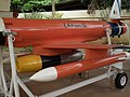 Lakshya PTA (pilotless target aircraft) at HAL 7688.JPG
