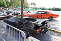 Lamborghini Countach 1979 LP400S Cannonball Run and Dodge Charger 1969 General Lee LSides CECF 9April2011 (14600256042) (2).jpg