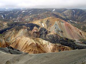 Brennisteinsalda - Image: Landmannalaugar Iceland 2005 2