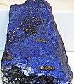 Lapis lazuli (lazuritic metamorphite) (Sar-e-Sang Deposit, Sakhi Formation, Precambrian, 2.4-2.7 Ga (?); Sar-e-Sang Mining District, Hindu-Kush Mountains, Afghanistan) 10 (49167089247).jpg