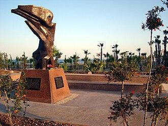 Armenia–Cyprus relations - Armenian genocide monument in Larnaca