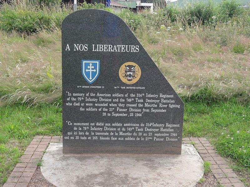 Laronxe (M-et-M) mémorial de guerre