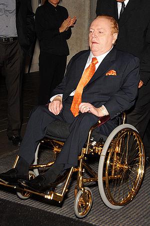 Larry Flynt - Image: Larry Flynt Wheelchair
