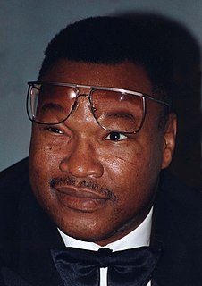 Larry Holmes American boxer