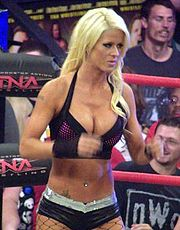 Angelina Love en 2010.