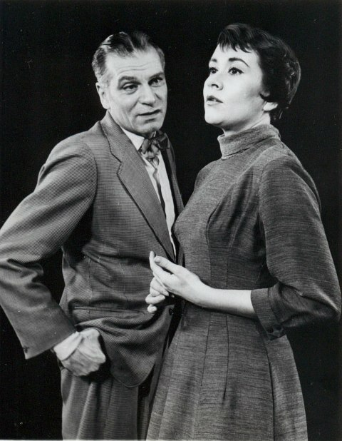 Laurence Olivier and Joan Plowright 1960