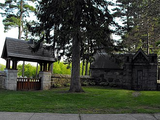 Lawrence Street Cemetery - Image: Lawrence Street Cemetery