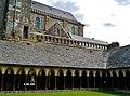 Le Mont-Saint-Michel Abbaye de Mont-Saint-Michel Abbatiale & Cloître 1.jpg