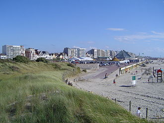 Le Touquet - Dunes at the north of the beach