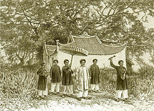 Tonkin Flotilla - Prefect of Phu-doan, 1884