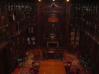 Daniel Pabst - Henry Charles Lea Library (1881), as now installed in Van Pelt Library, University of Pennsylvania.