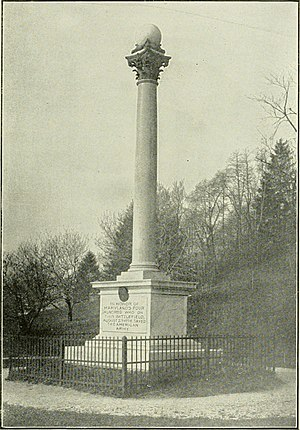 Maryland 400 - Early photo of the Maryland Monument
