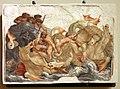Leolio orsi, frammenti di affreschi dalla rocca di novellara, 1555-56 ca., 03 scena di diluvio con divinità marine.jpg