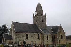 L'église Saint-Martin de Beuzeville.