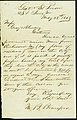 Letter from M.B. Bransford, Gratiot Street Prison, St. Louis, Mo., to Gray and Blanding, May 28, 1863.jpg