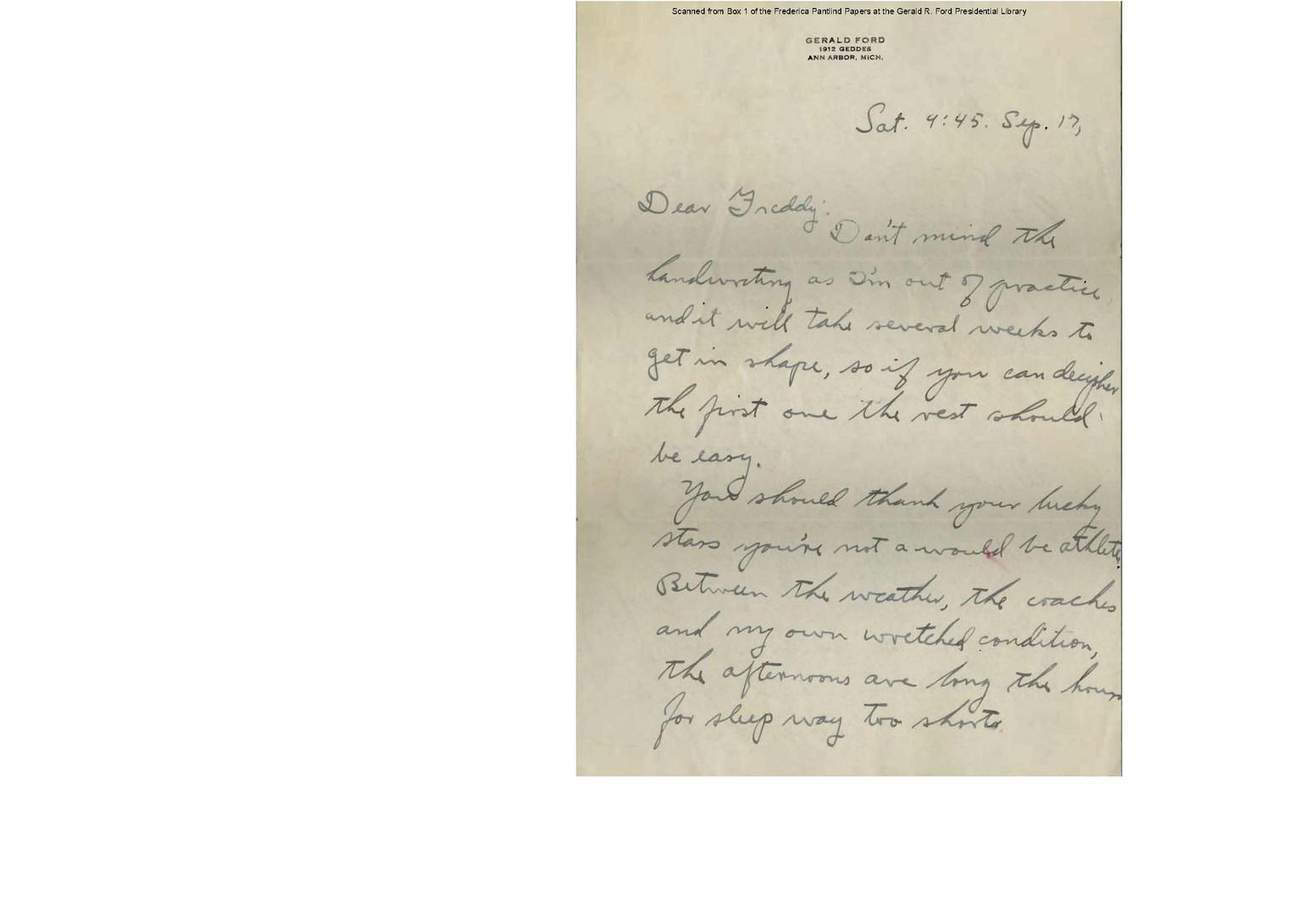 File:Letter to Gerald R  Ford (1933-09-17)(Gerald Ford