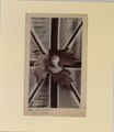 Likeness on maple leaf with Union Jack as background (HS85-10-11254) original.tif
