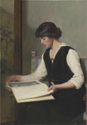 Lilla Cabot Perry - Reading.png
