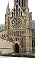 Lincoln Cathedral, North side of North Transept (50394660587).jpg