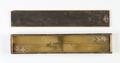 Linjal i ask av svärtad al med skjutlock,1600-tal - Skoklosters slott - 92887.tif