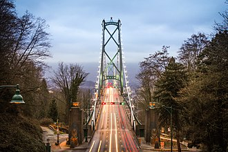 Lions Gate Bridge - Image: Lions Gate bridge