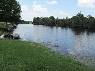 Little Econlockhatchee River - View from Jay Blanchard Park of the Little Econ River