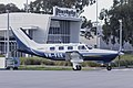 Little Wings (VH-FEE) Piper PA-46-350P Malibu Mirage taxiing at Wagga Wagga Airport.jpg