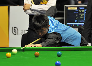 Liu Chuang (snooker player) - Liu Chuang at the 2013 German Masters