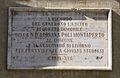 Livorno Palazzo Patron Santa Elisabetta plaque 01.JPG