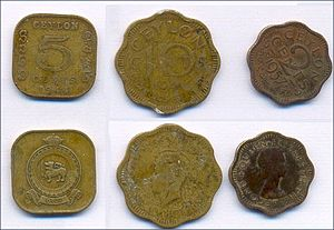 Coin collecting - Some coins of Ceylon