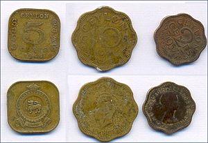 Coin collecting - Some coins of Ceylon
